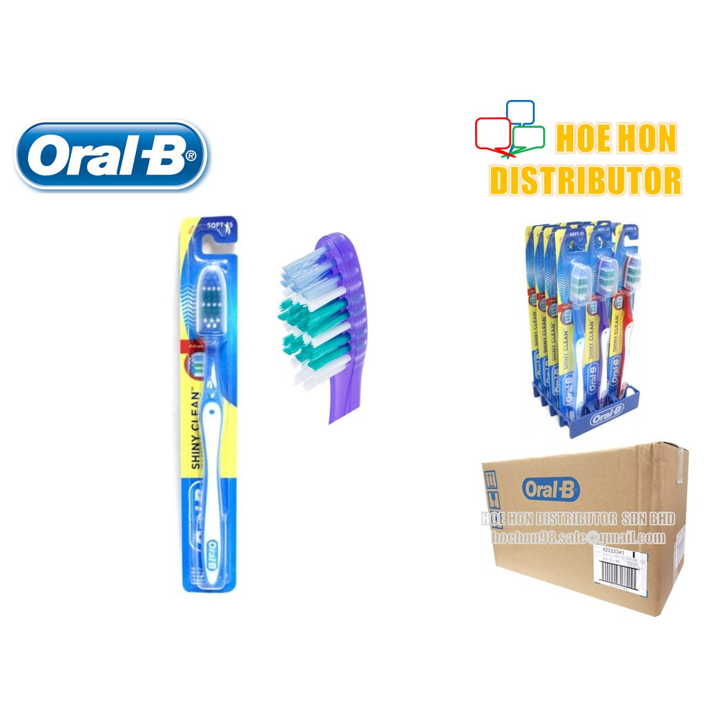 image of Oral B / Oral-B Shiny Clean Manual Toothbrush Soft Bristle