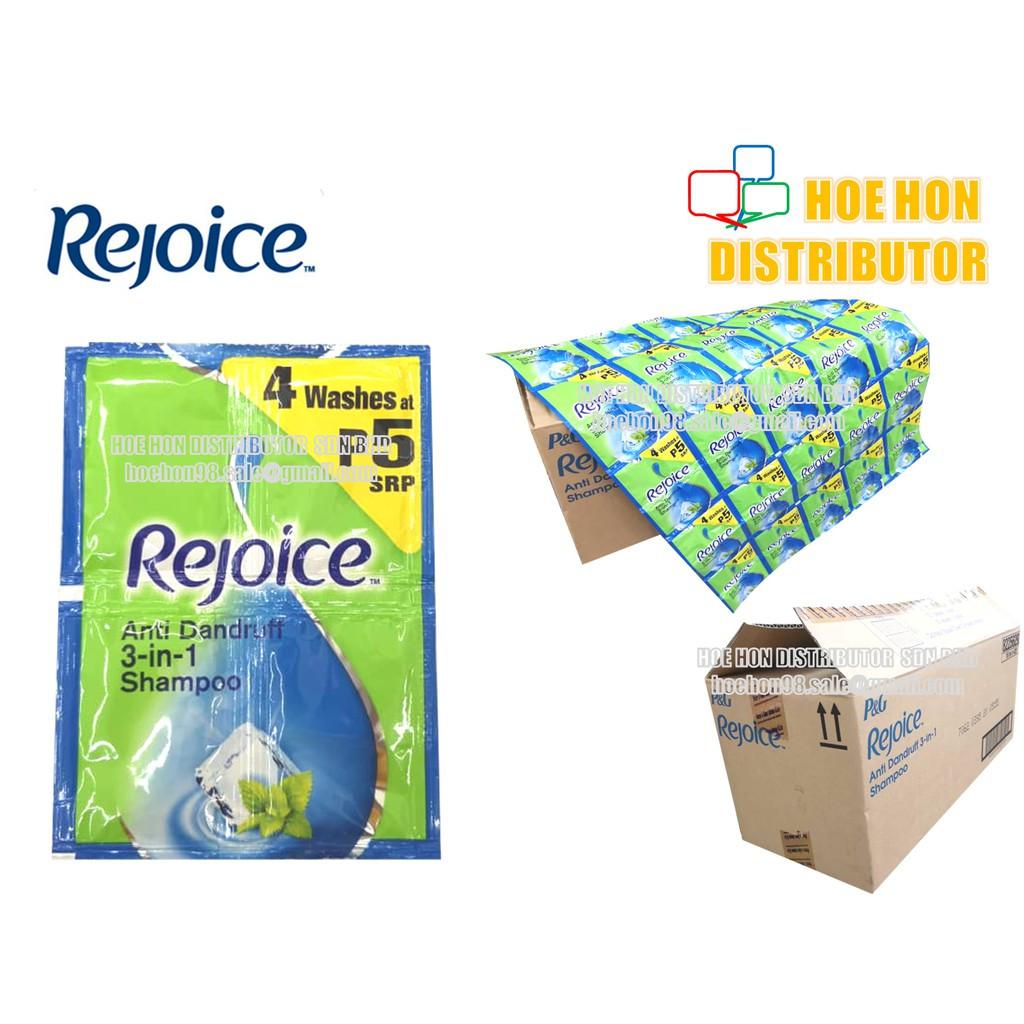 Rejoice Hair Shampoo 4ml X 4pcs (Travel Pack)