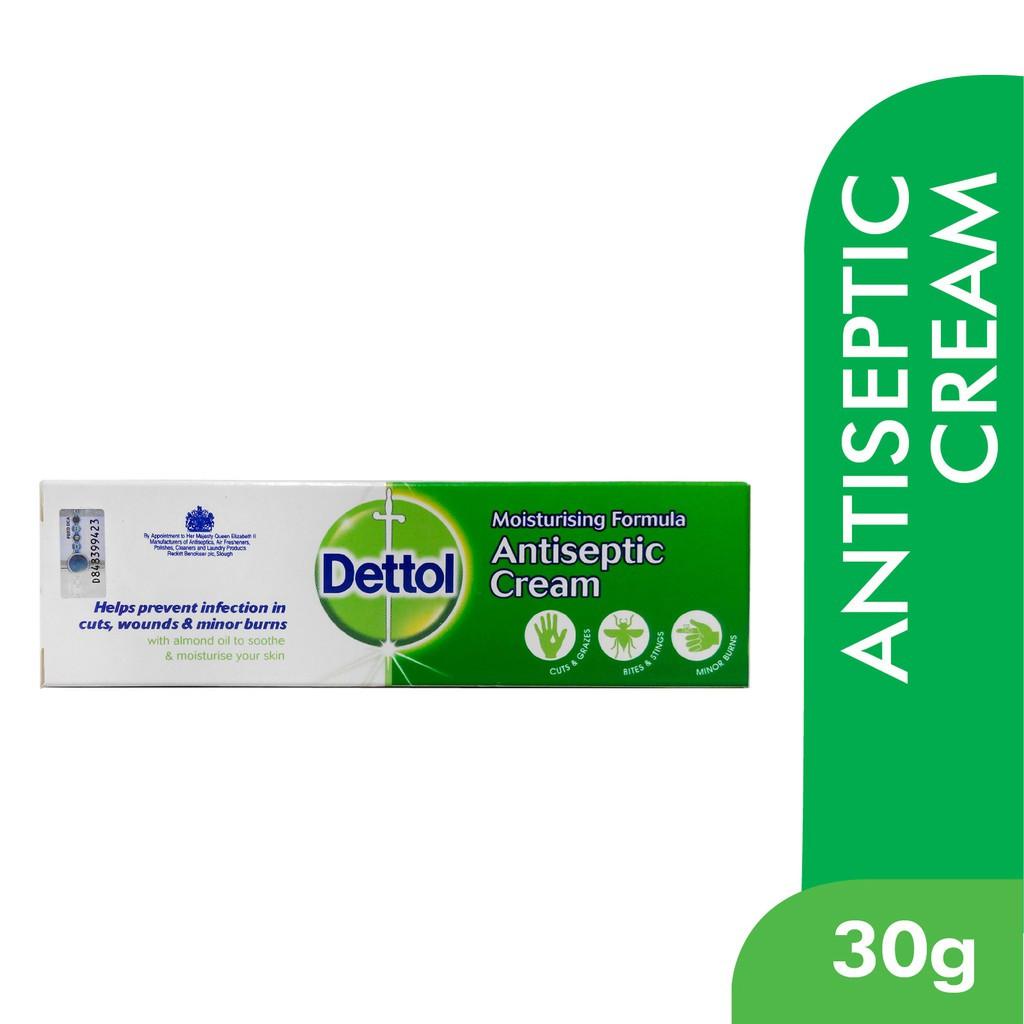 Dettol Antiseptic Cream 30g Mosquito / Insect Bite, Minor Burn / Cuts
