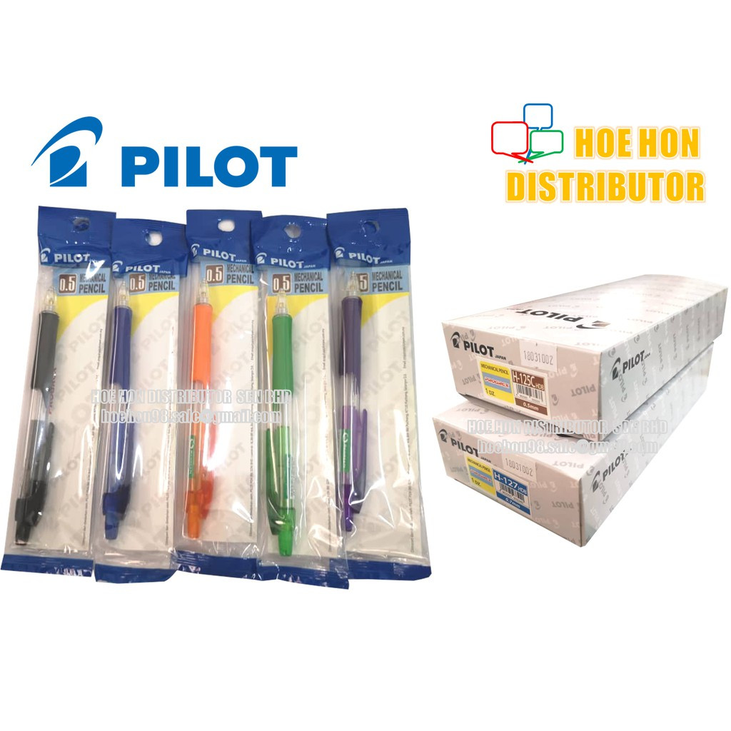 image of Pilot Progrex Mechanical Pencil 0.5mm 0.7mm