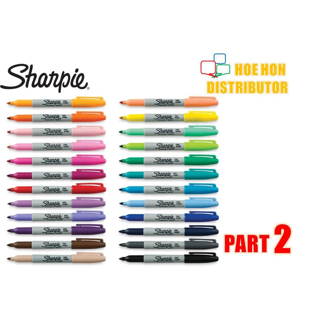 image of Sharpie Fine Permanent Marker Full Standard Color (ORIGINAL) Customize Color
