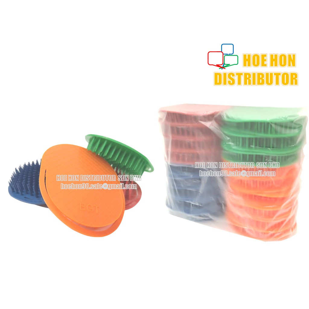 image of Round / Oval Shape Hair Comb / Sikat Rambut Bulat RHB9575