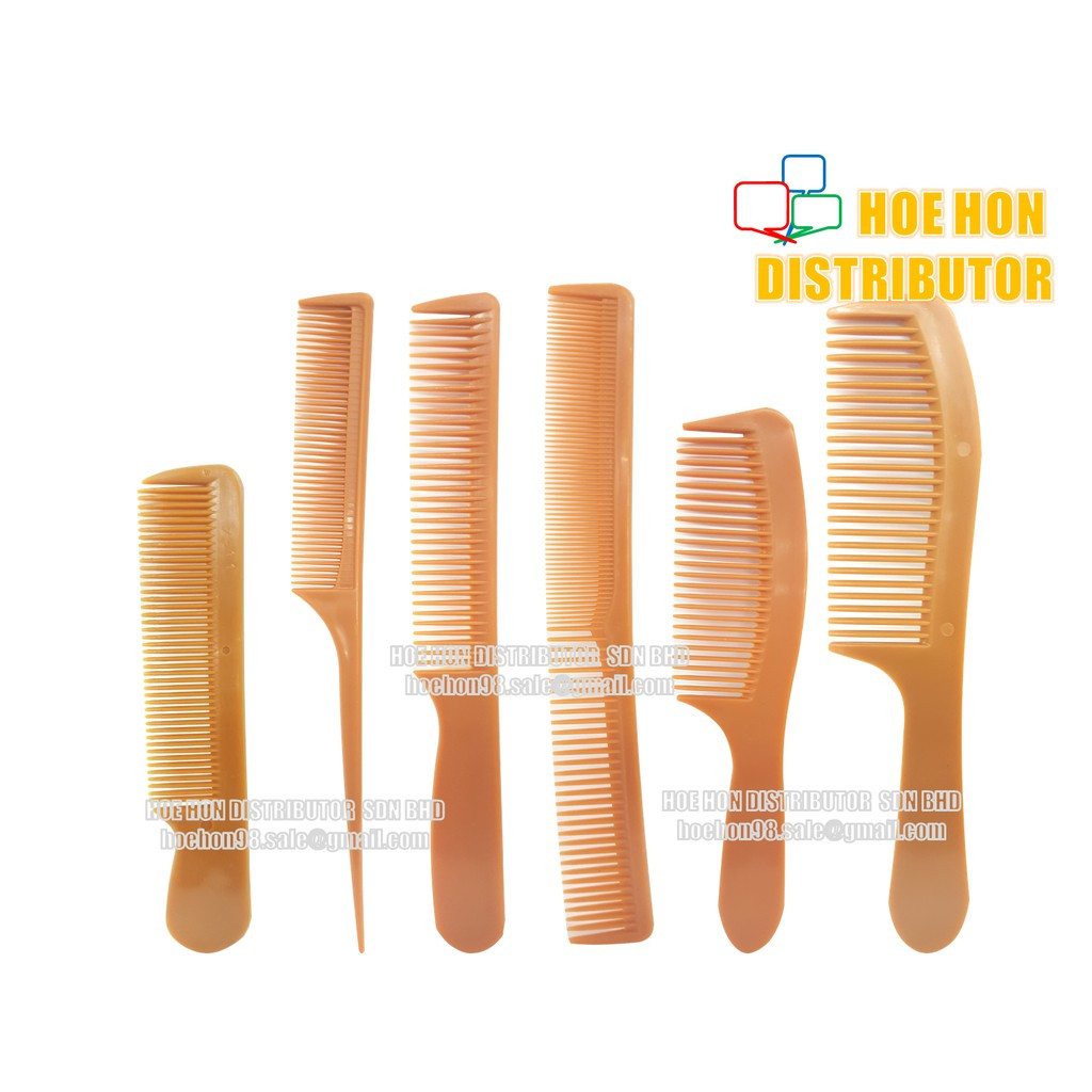 image of Unisex Hair Comb / Sikat Rambut 7411 7413 7470 7471 No 1 No 2 (ALL)