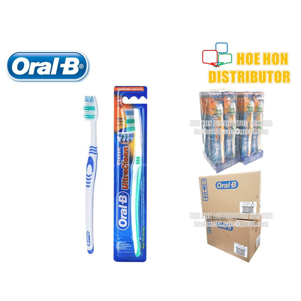 image of Oral B / Oral-B Classic Ultra Clean Toothbrush / Berus Gigi Oral B Soft / Medium