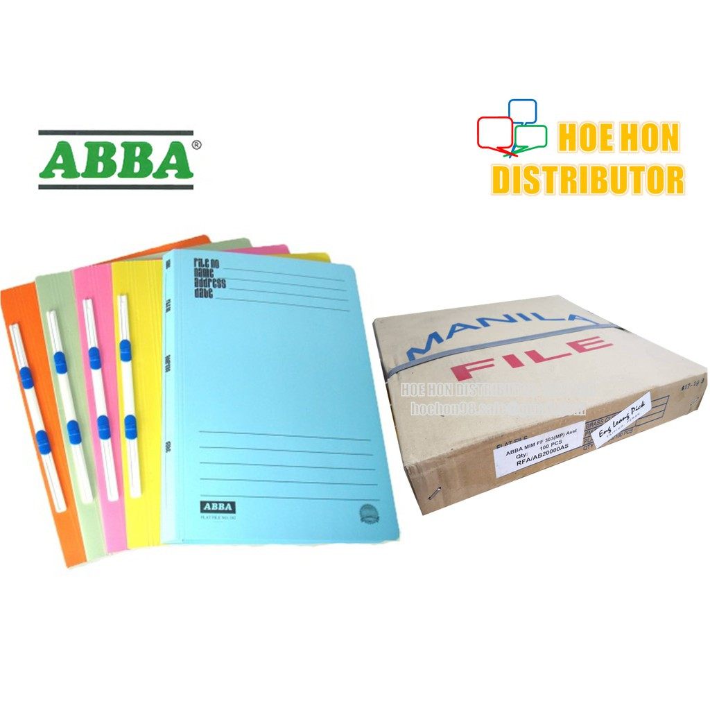 image of ABBA Manila Flat File 303 5pcs