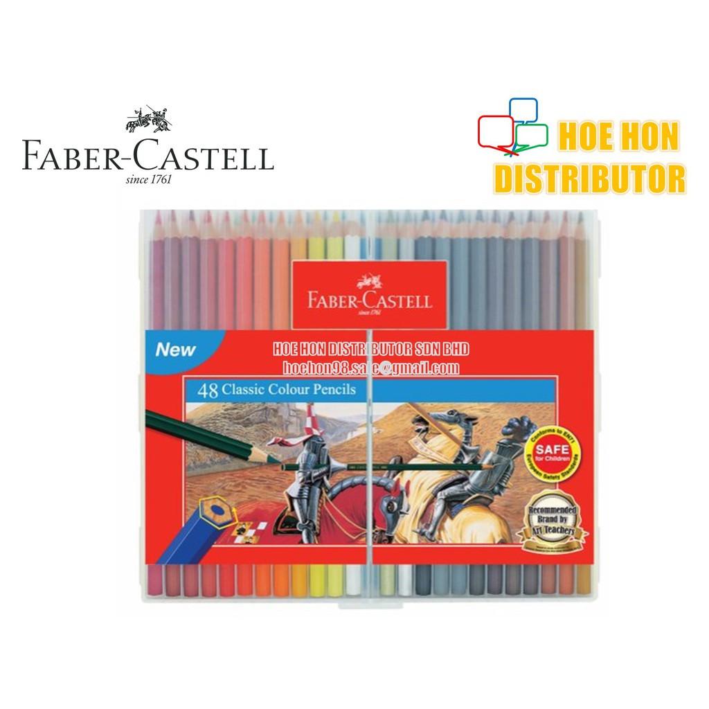 image of Faber-Castell / Faber Castell Slim Flexi Case Classic Colour Pencil 48 115899