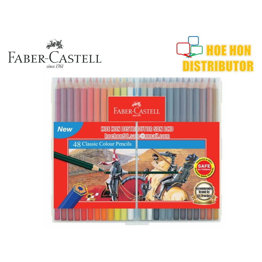 image of Faber-Castell / Faber Castell Slim Flexi Case Classic Colour Pencil 48 115899