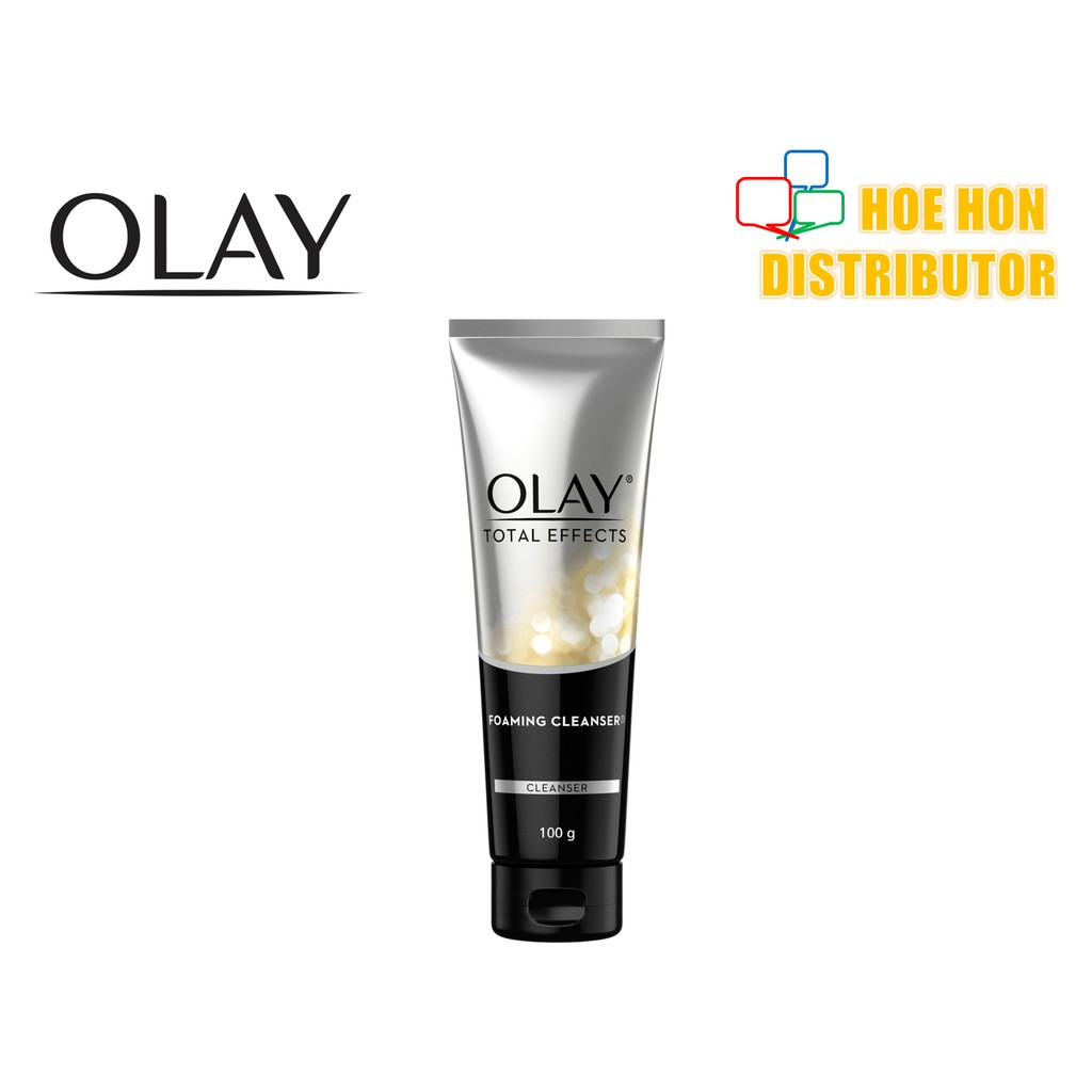 image of Olay Total Effects Foaming Cleanser 100g