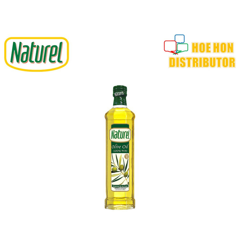 image of Naturel Pure Olive Oil / Minyak Zaitun Tulen 250ml