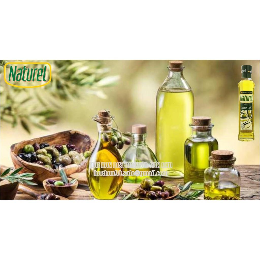 Naturel Pure Olive Oil / Minyak Zaitun Tulen 250ml
