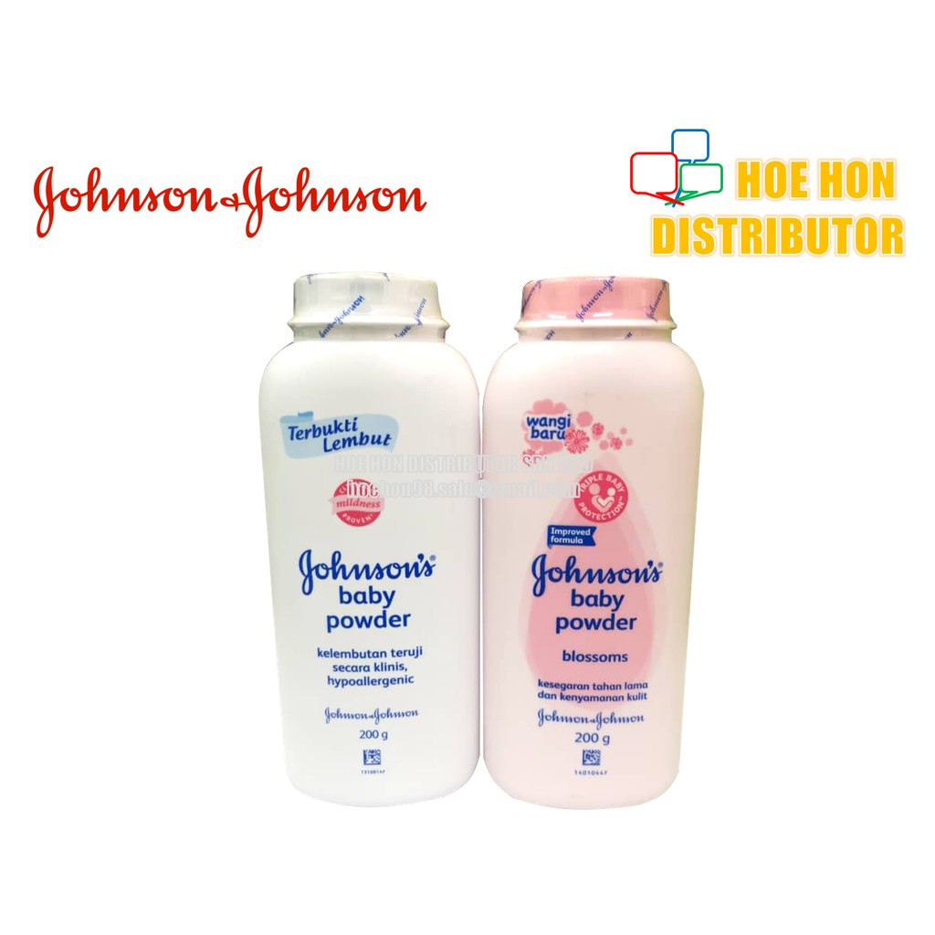 image of Johnson's Baby Powder Regular, Blossoms, Bedtime / Serbuk Bayi Johnson 200g
