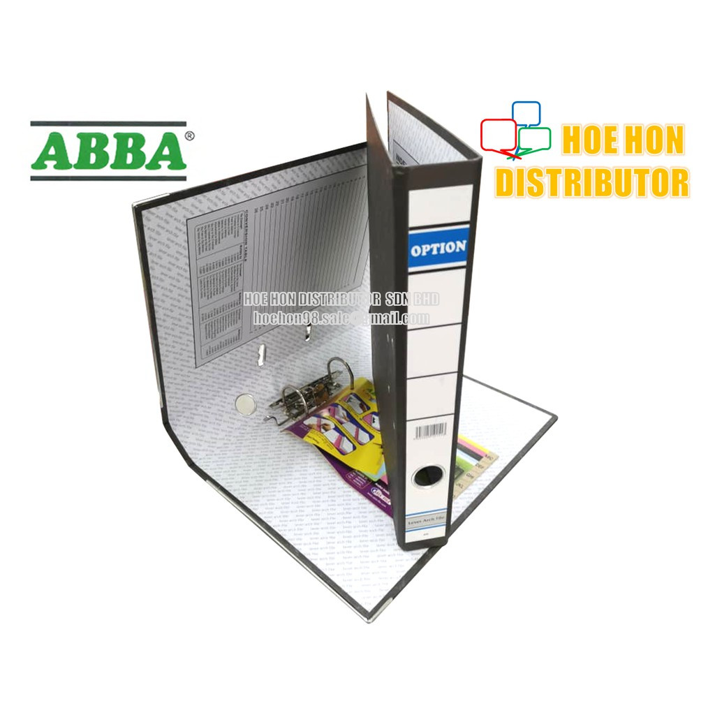 ABBA OPTION Lever Arch File Fail 2 Inch / 50mm