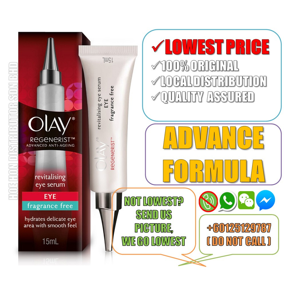 image of Olay Regenerist Revitalising Eye Serum 15ml (Original)