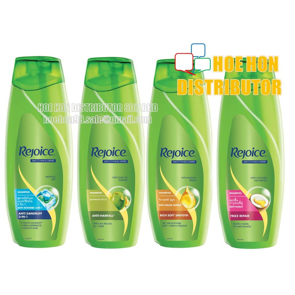 image of Rejoice Hair Shampoo 340ml, Anti-Dandruff, Rich, Anti-Hairfall, Frizz Repair