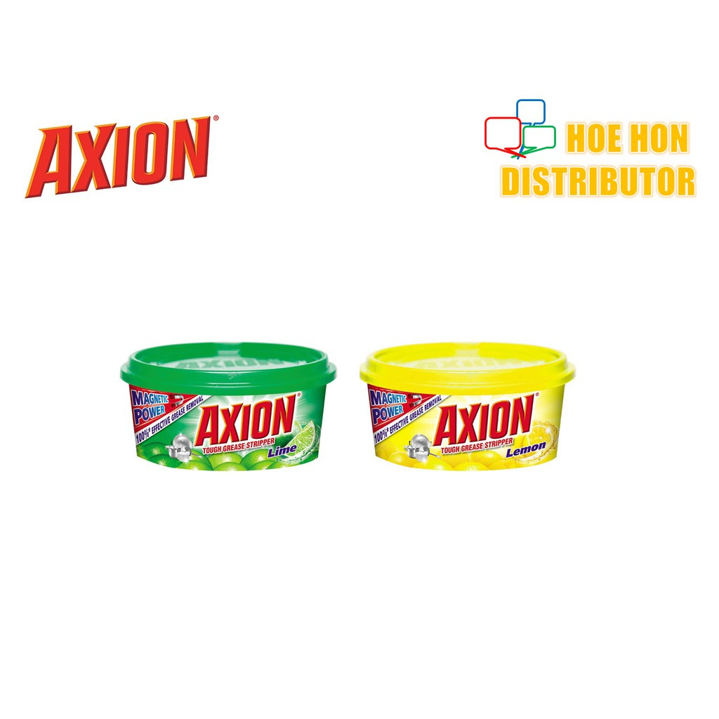 Axion Dishwash Paste Dishpaste Lime Lemon 200g