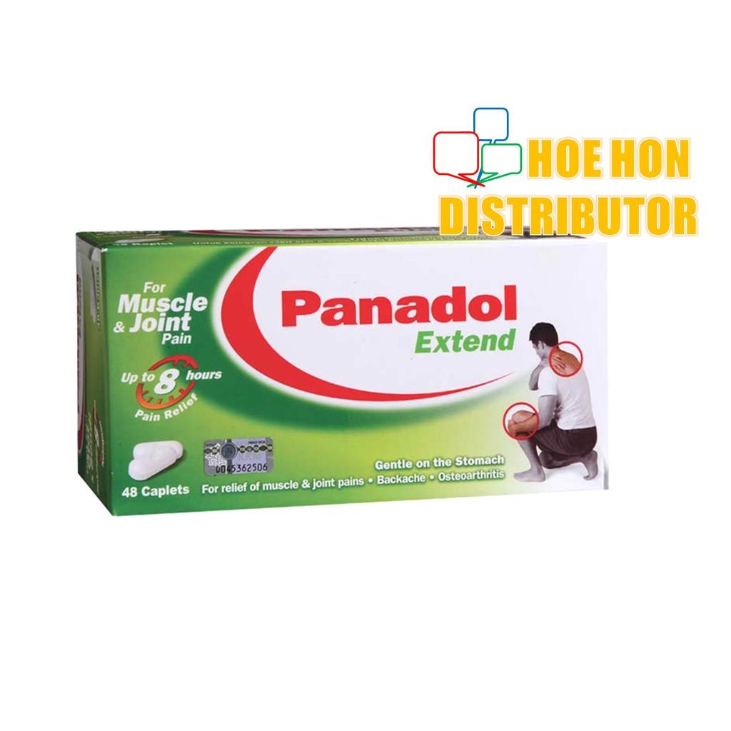 GSK Panadol Extend 6 Taplets / Pack Musle & Joint Pain / Sakit Otot & Sendi