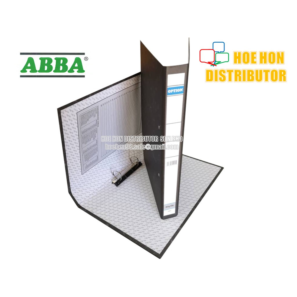 image of ABBA OPTION Ring File Fail 2 Inch / 40mm 1001