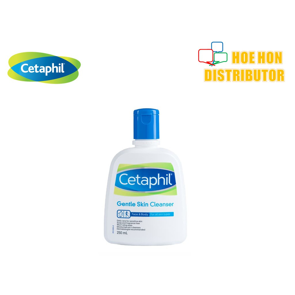 image of Cetaphil Face & Body Gentle Skin Cleanser 250ml (For All Skin Type) P51250-2