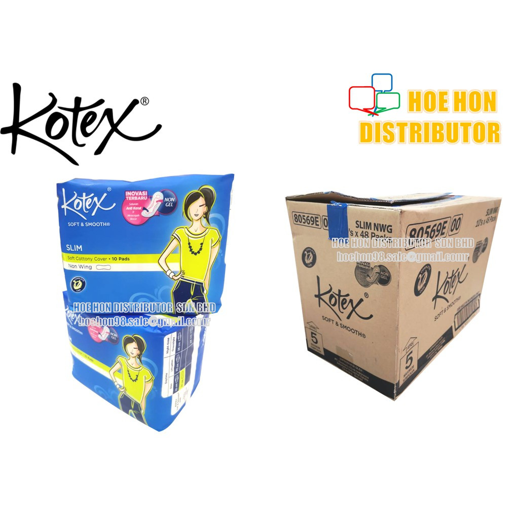 image of Kotex Slim Non Wing 23cm 10 Pads