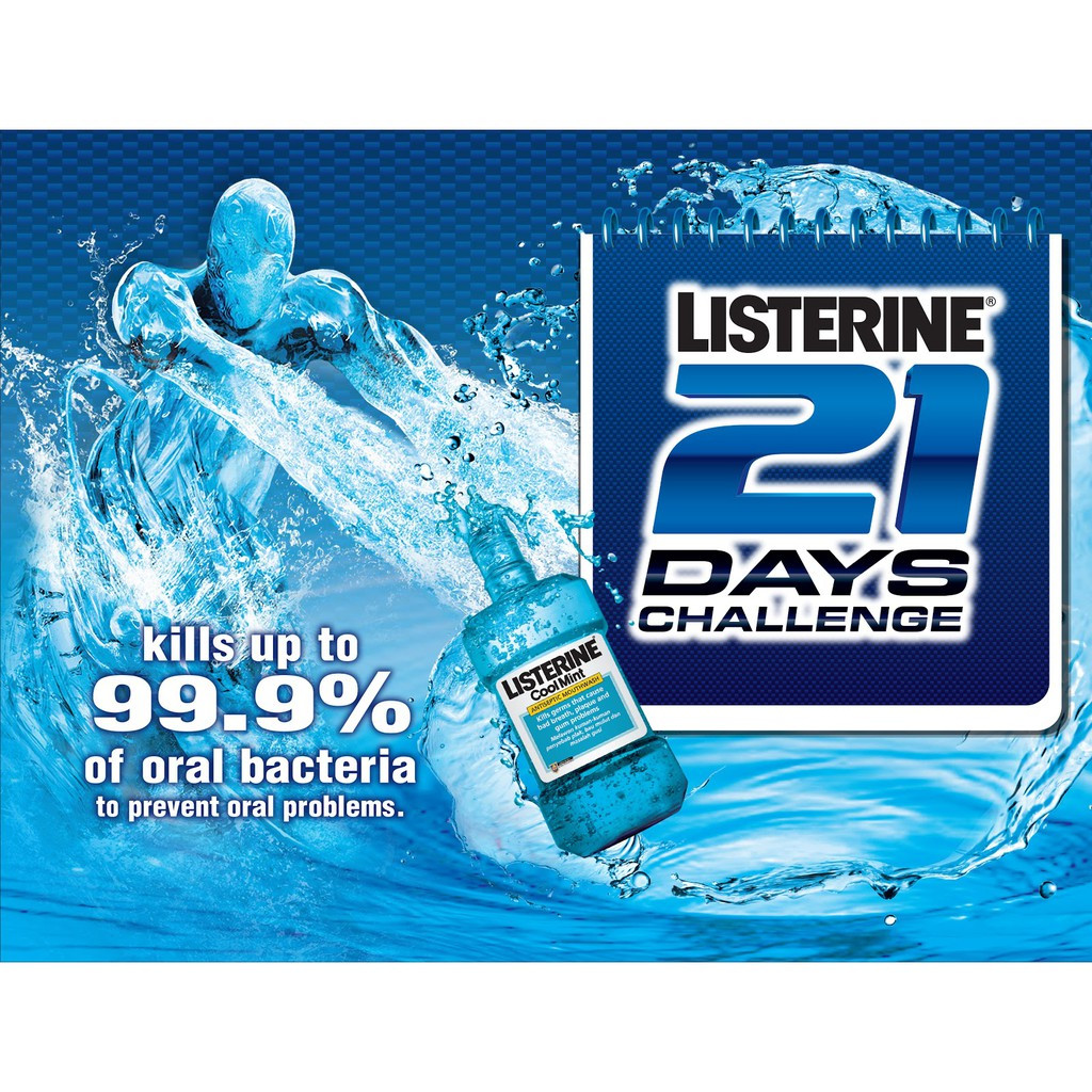 Listerine Mouth Wash Original / Cool Mint 250ml