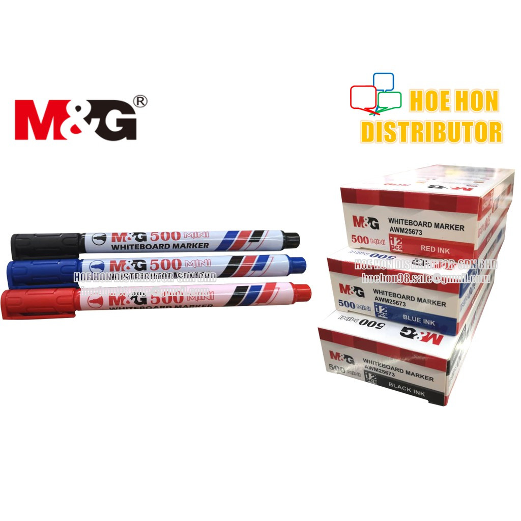 image of M&G Mini Whiteboard Marker Pen 500 / AWM 25673