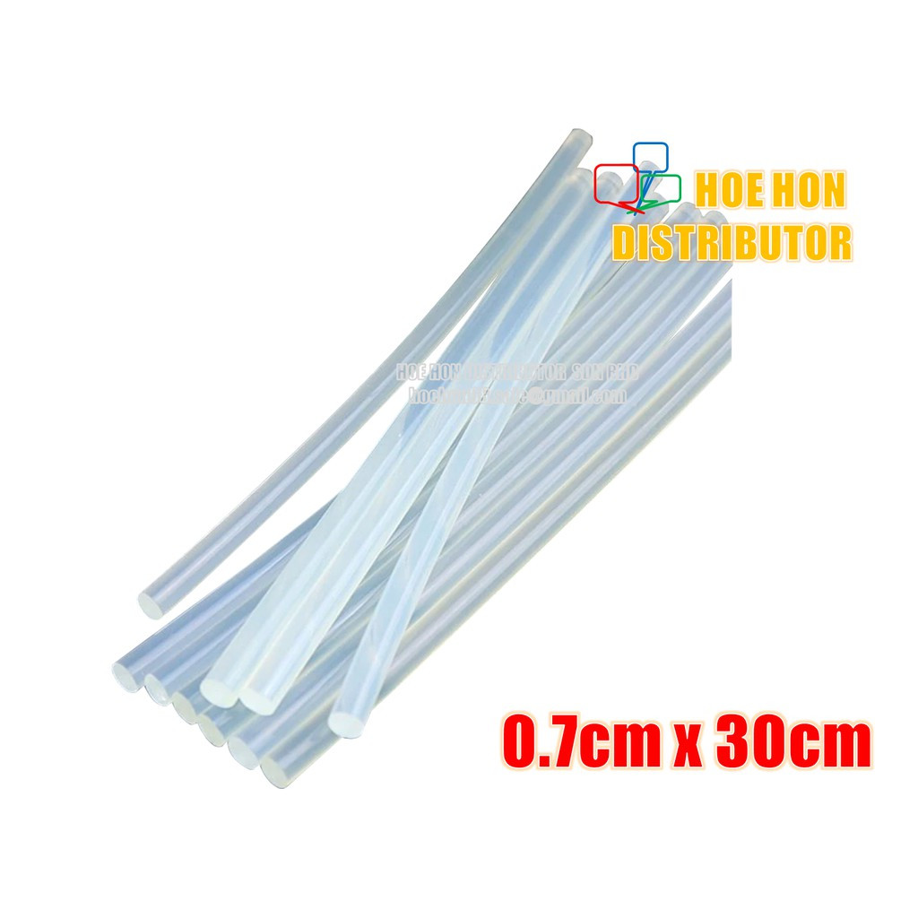 image of DIY Hot Glue Stick 70mm X 300mm / 0.7cm X 30cm 1pc Full Length For Hot Glue Gun