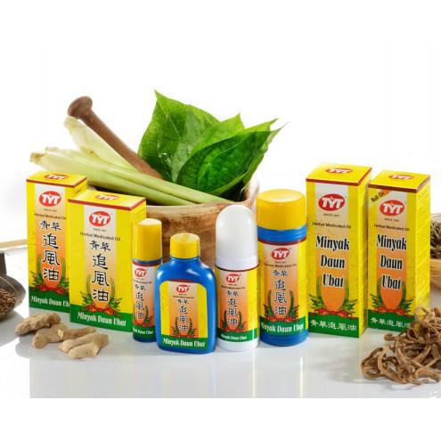 TYT Herbal Medicated Oil / Minyak TYT (Mosquito Repellent Oil) HALAL 50ml