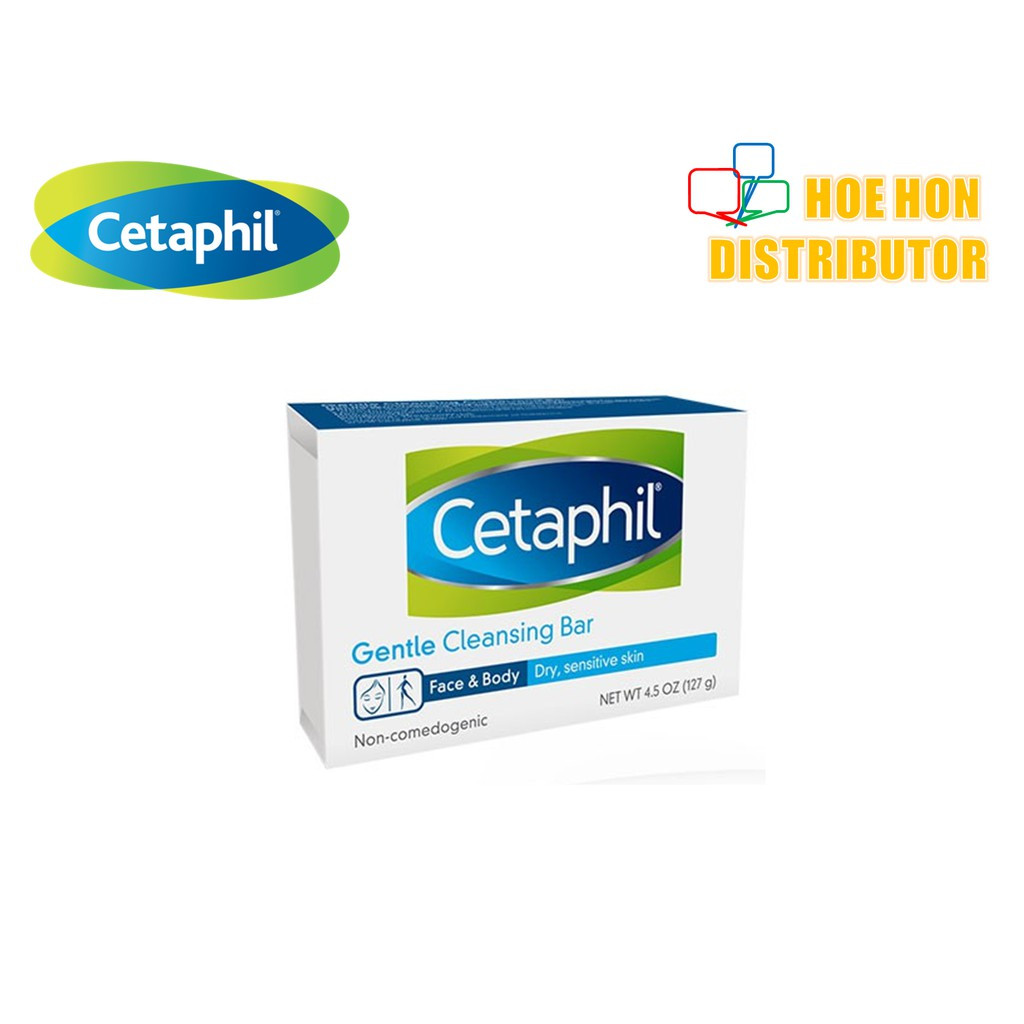 image of Cetaphil Gentle Cleansing Bar 127g / 4.5oz
