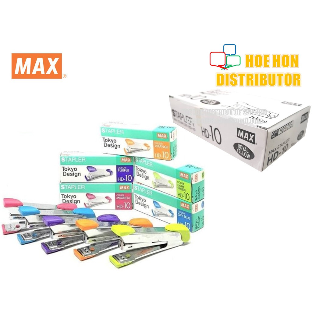 image of MAX Stapler HD-10 / No. 10 Tokyo Design HD92161