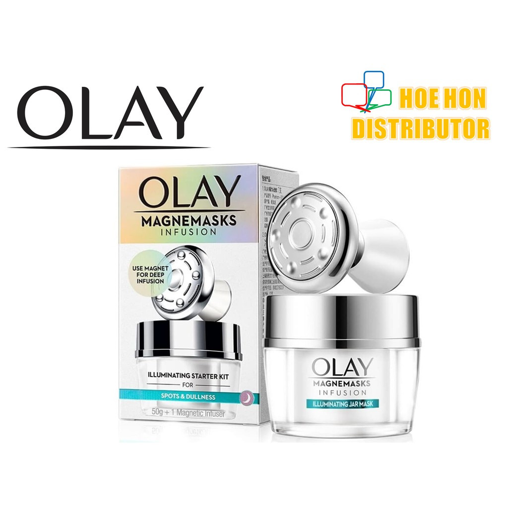 image of [NEW] Olay White Radiance Magnemasks Infusion Starter Kit 50g
