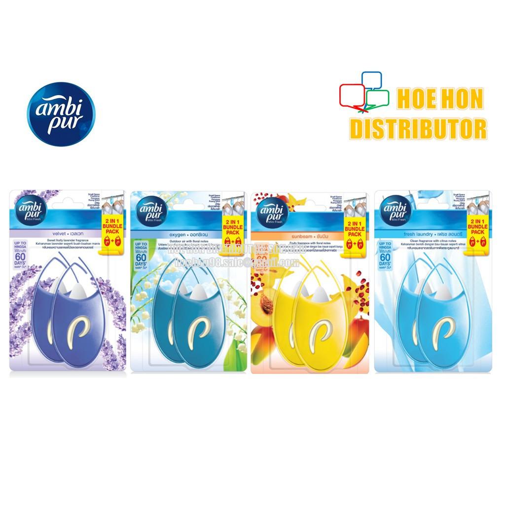 image of Ambi Pur Mini Fresh / Closet Fresh Perfume Fragrance 4.5ml X 2 [Bundle Pack]