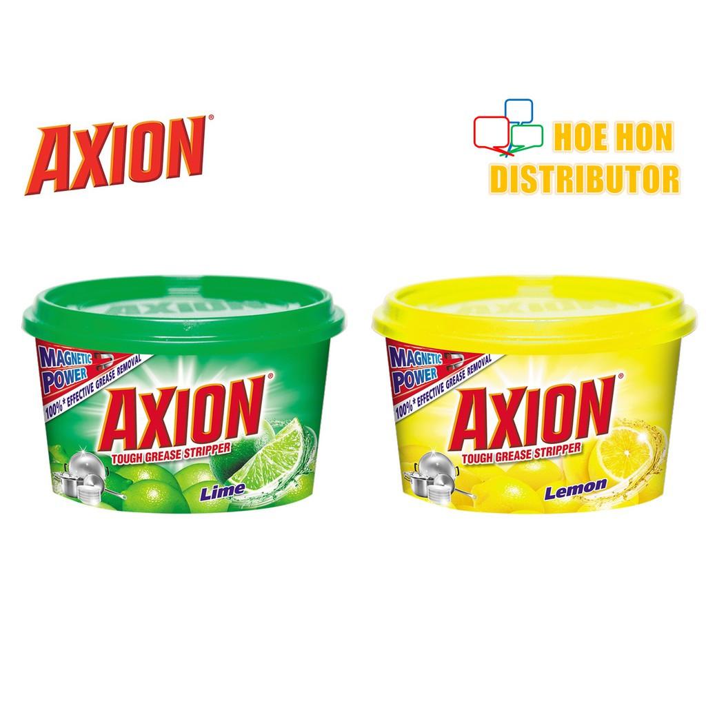 Axion Dishwash Paste Dishpaste Lime Lemon 650g + 100g (750g)