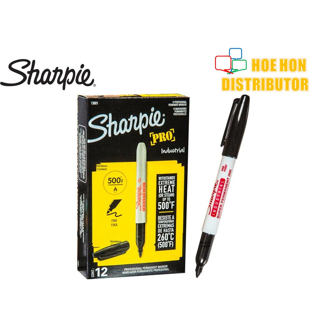 image of Sharpie Pro / Industrial / Professional Permanent Fine Point Marker