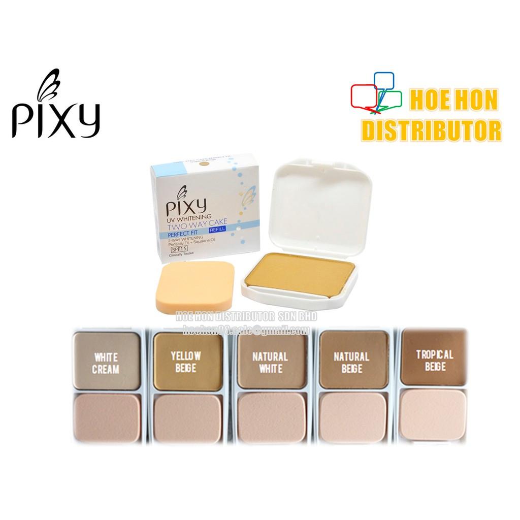 image of Pixy Refill UV Whitening SPF15 Two Way Cake 12.2g (ORIGINAL)