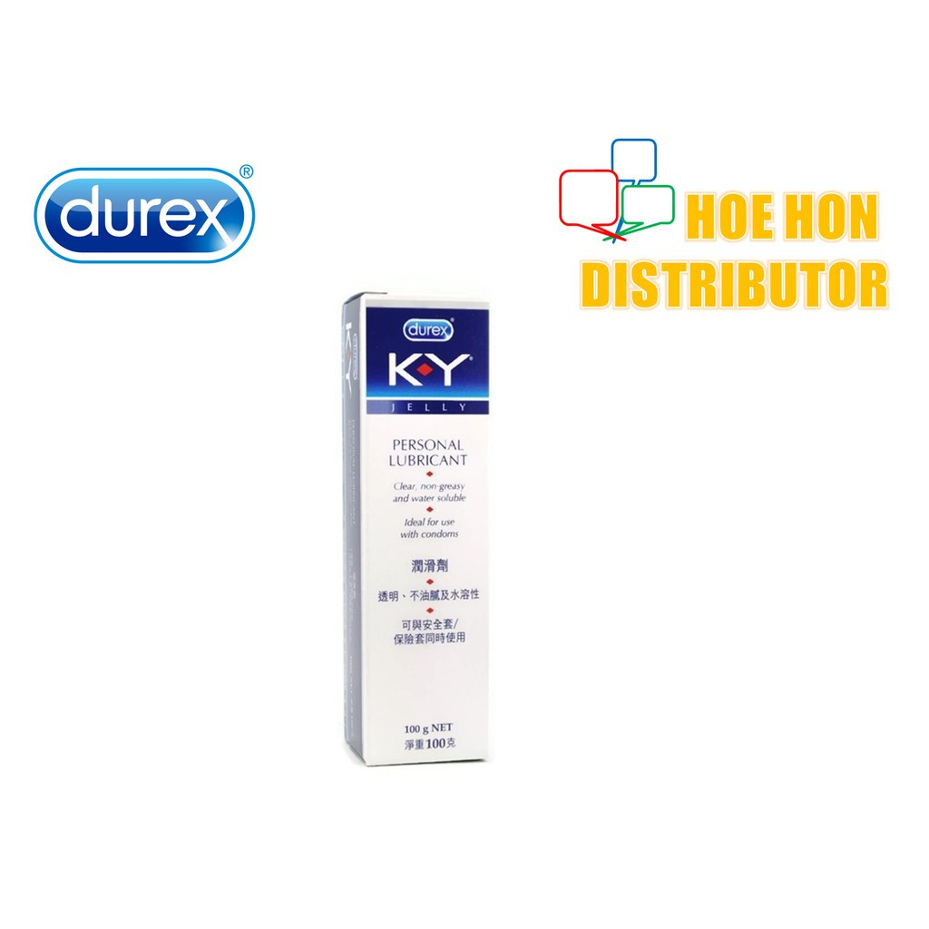 image of Durex KY Personal Lubricant Jelly 100g Water Soluble, Best Use With Durex Condom