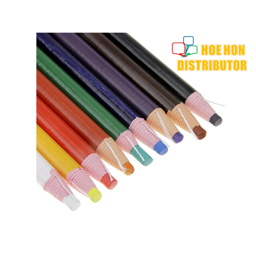 image of Dermatograph Paper Wrapped Soft Color / Colour Pencil