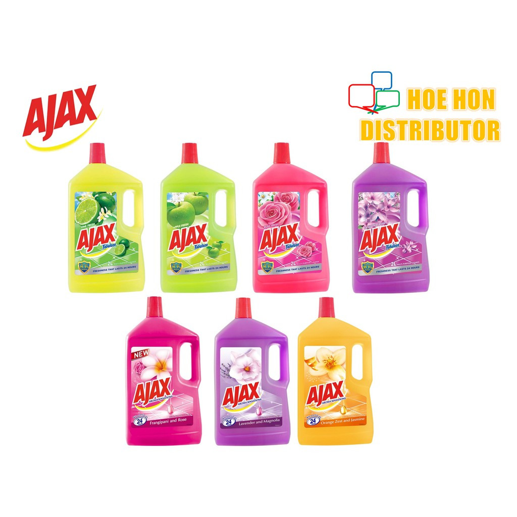 image of Ajax Fabuloso Multi Purpose Floor Cleaner 2L