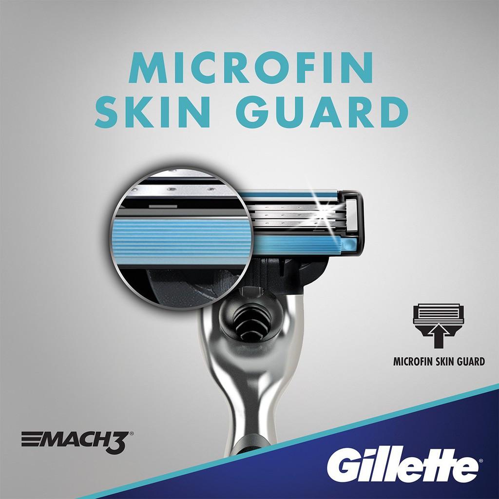 Gillette Mach 3 / Mach3 2 Pcs Refill Cartridges Pisau Cukur (ORIGINAL)