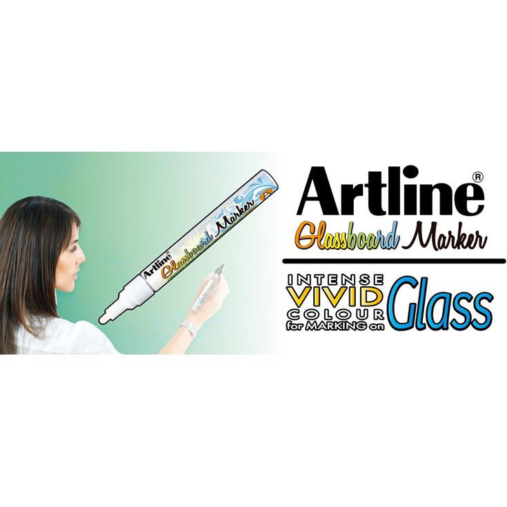Artline Glassboard Marker / Glass Marker / DIY Decoration Glass Art