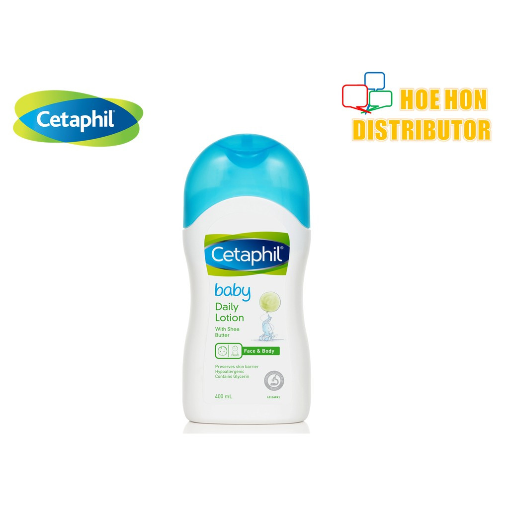 Cetaphil Baby Daily Lotion (With Shea Butter) Face & Body 400ml