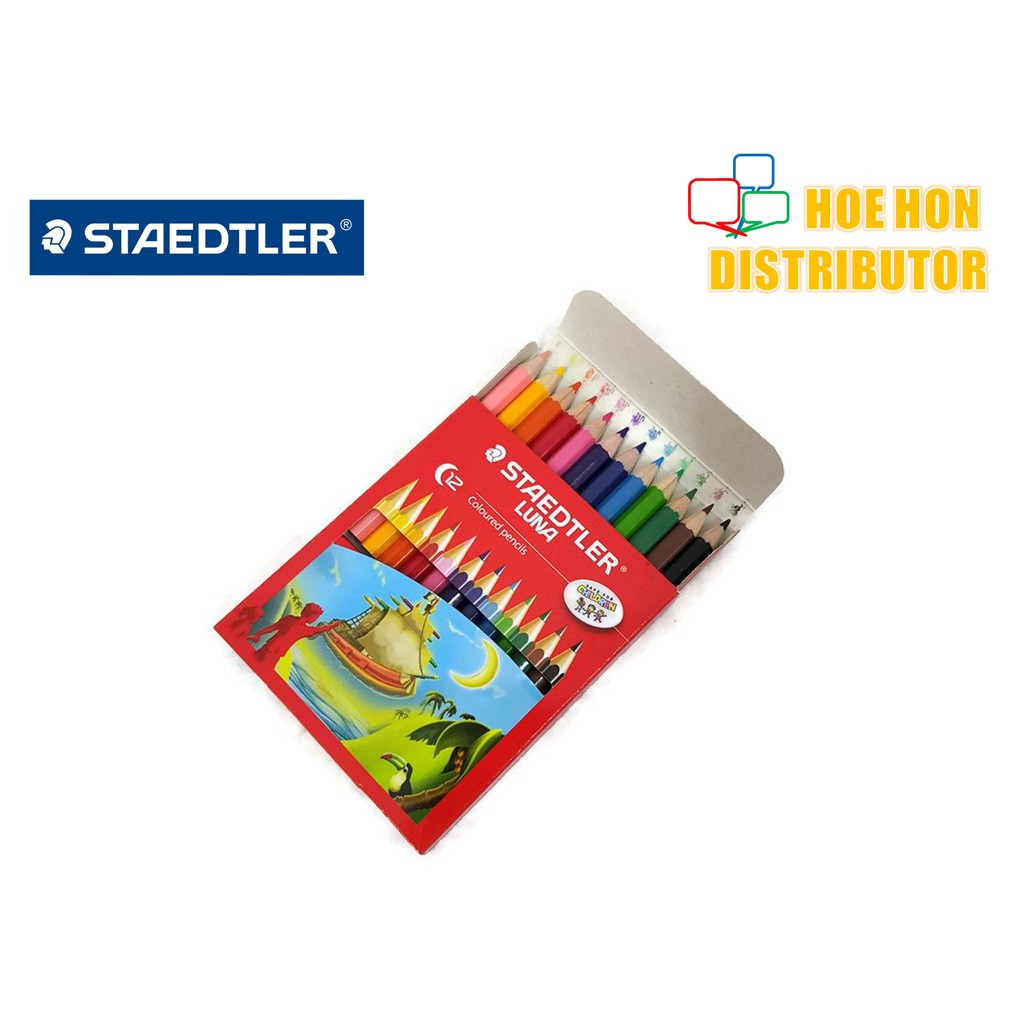 image of Staedtler Luna Colour Pencil 12 Short / Pencil Warna Staedtler Luna