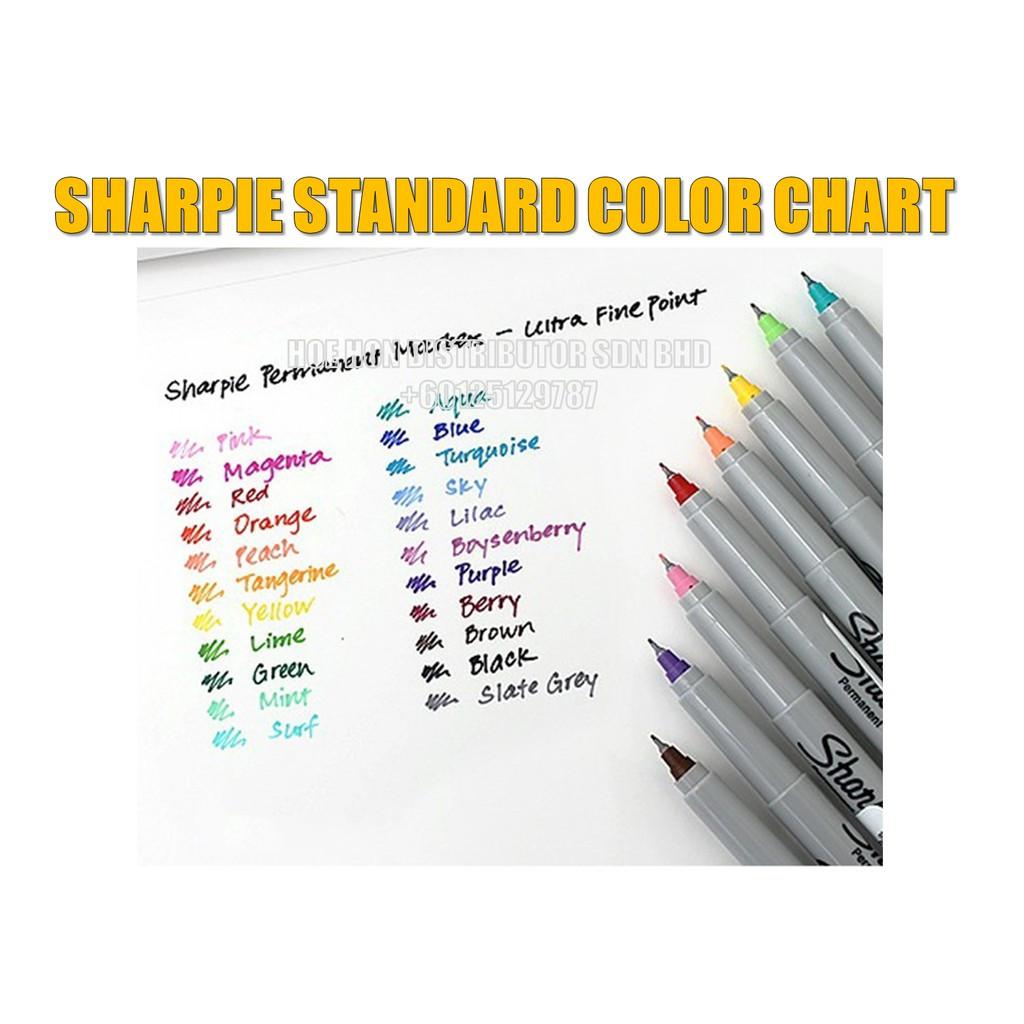 Sharpie Ultra Fine Point Permanent Marker / Customise Full Color Part 2
