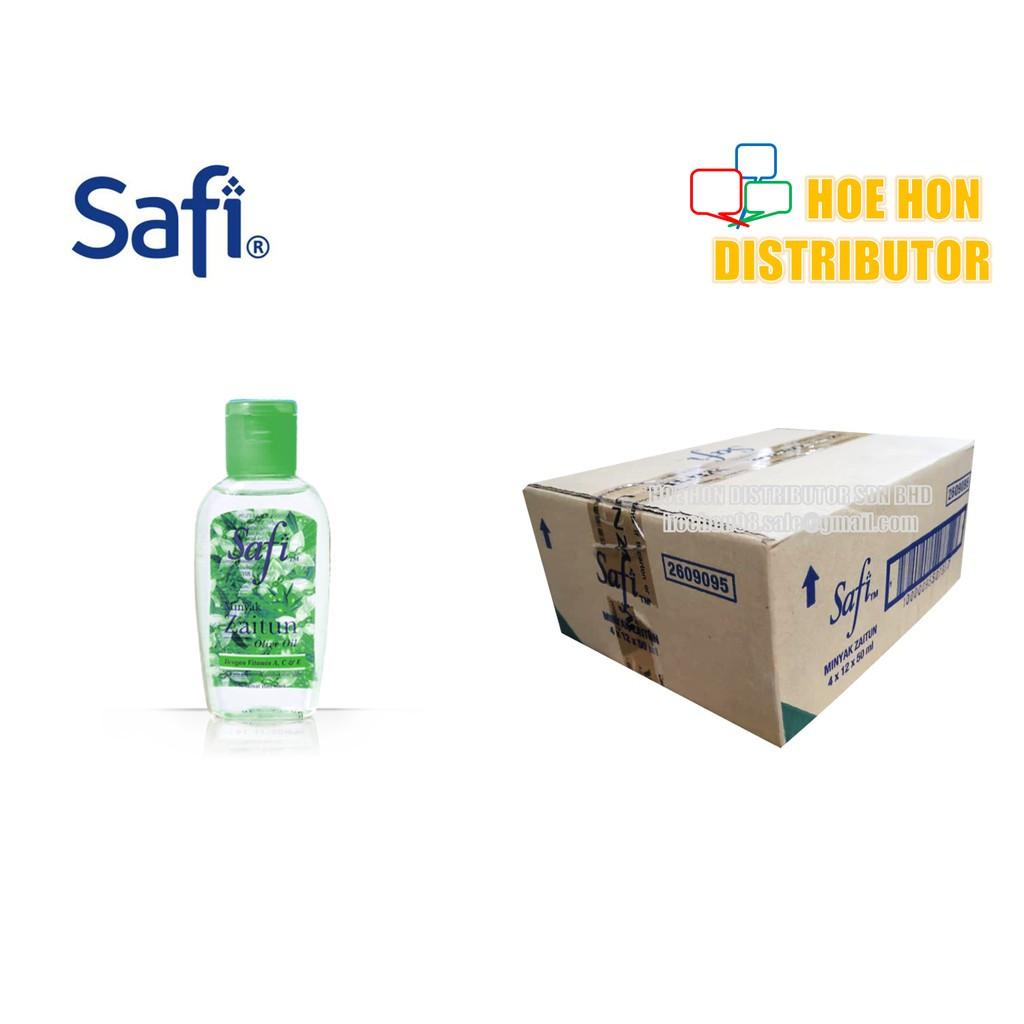 image of Safi Minyak Zaitun Tulen / Pure Olive Oil (Travel Pack) 50 Ml