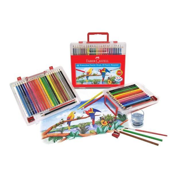 Faber Castell / Faber-Castell Wonder Box Water Color Colour Pencil 36