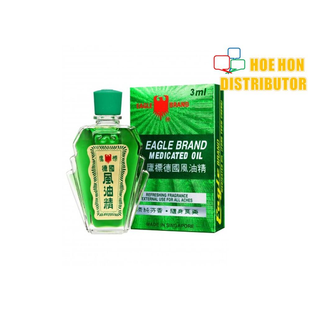 image of Eagle Brand / Cap Lang Medicated Oil 3ml Cap Lang