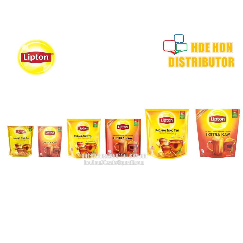 image of Lipton Tea Bag / Yellow Label Tea (Biasa / KAW) Uncang Teko Teh Potbags 20 40 80