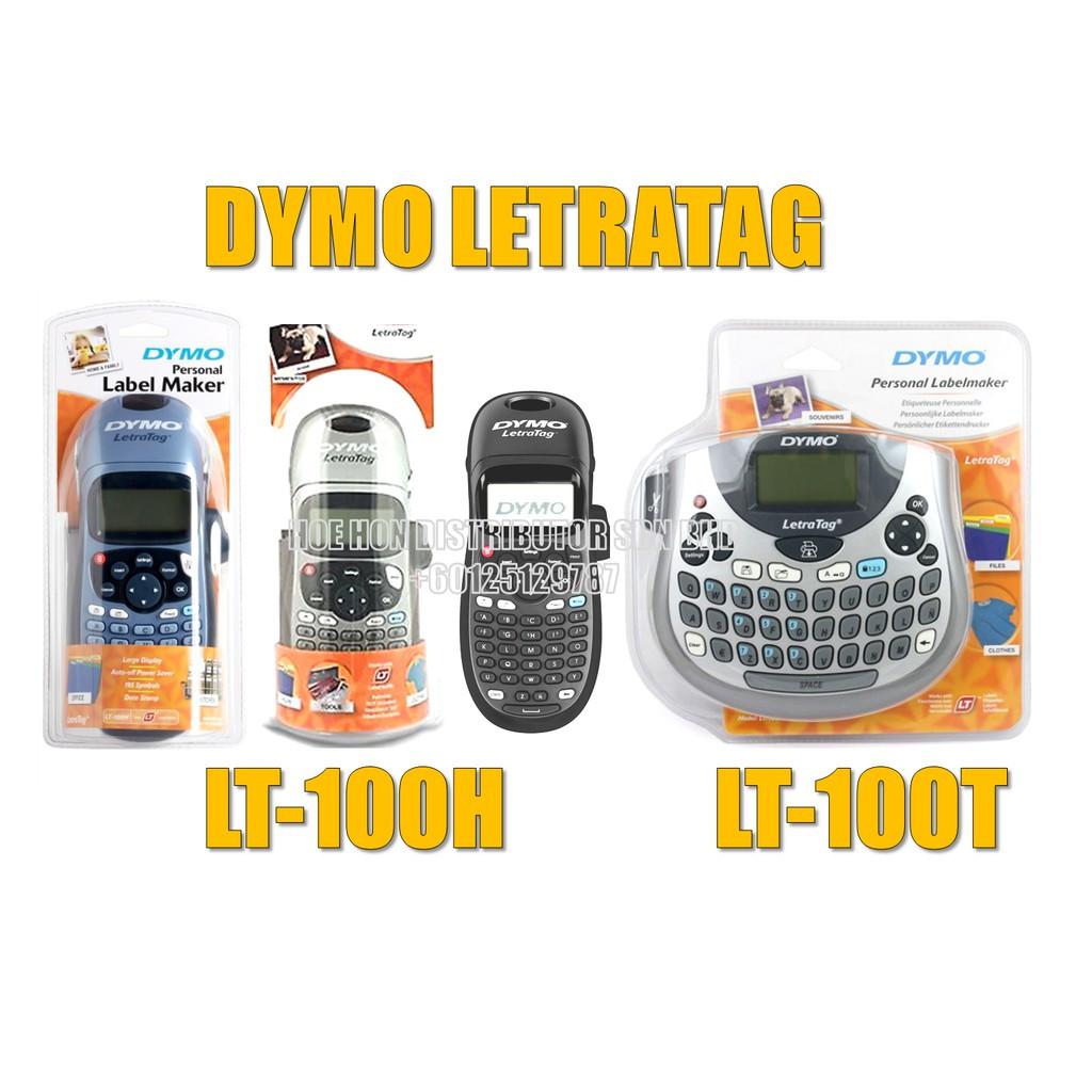 Dymo Letratag Labelmanager Label Maker / Printer LT-100H LT