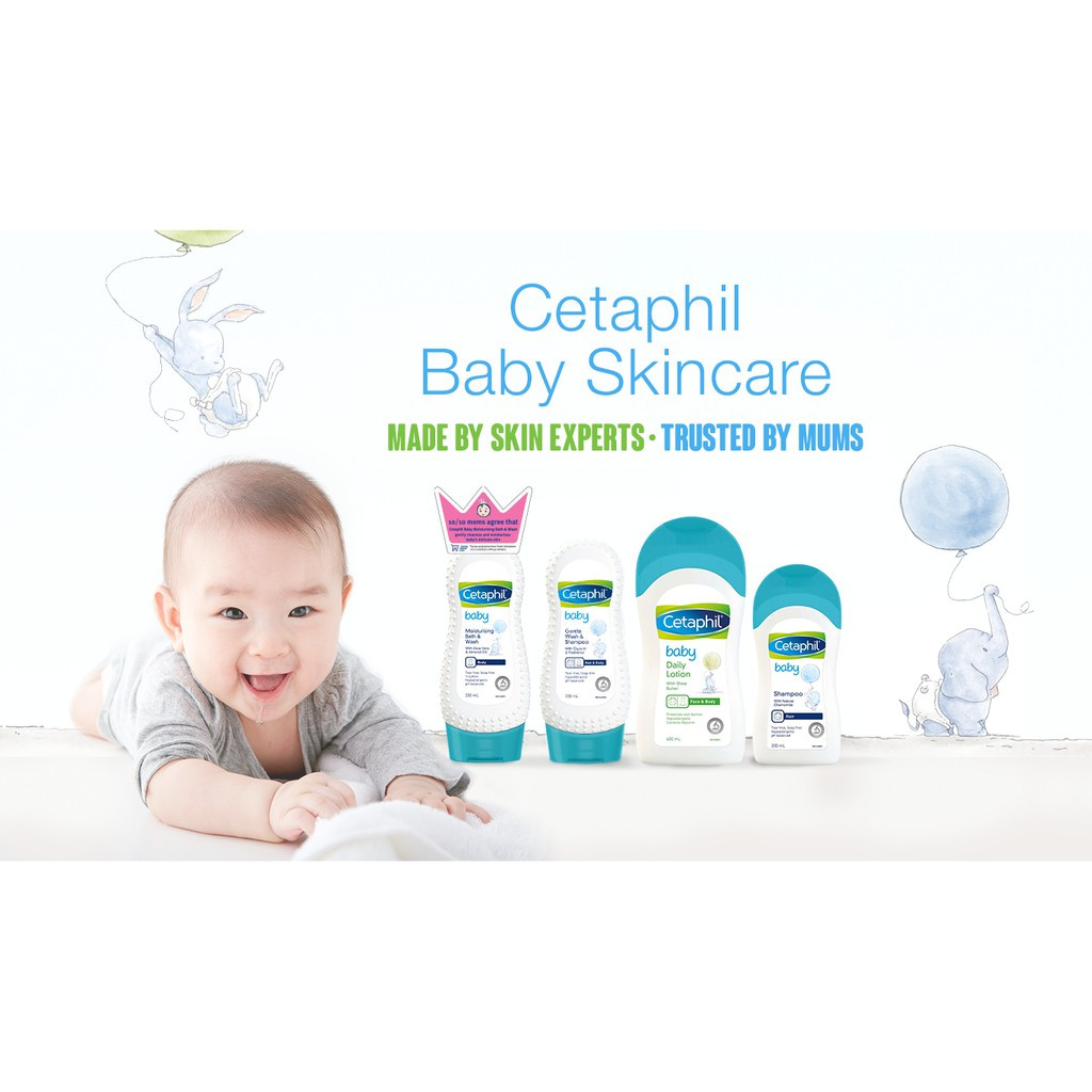 Cetaphil Baby Hair Shampoo (With Natural Chamomile) 200ml S0116XK1
