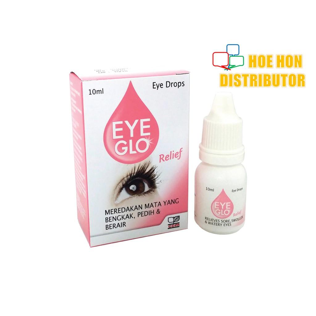 Eye Glo Red / Relief 10 Ml Ubat Mata, Eye Drop, Eye Mo