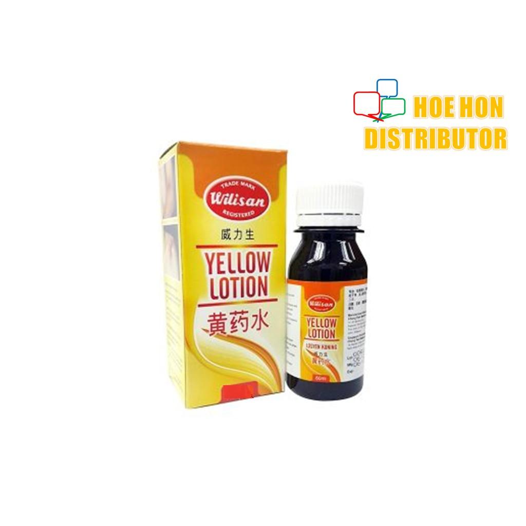 image of Wilisan Yellow Lotion 黄药水 Losyen Kuning 30ml